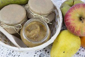 zimowa konfitura z jabłek i gruszek